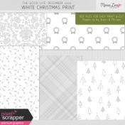 The Good Life: December 2020 White Christmas Print Kit