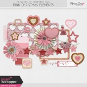 The Good Life: December 2020 Pink Christmas Elements Kit
