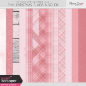 The Good Life: December 2020 Pink Christmas Solids & Plaids Kit