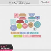 The Good Life: December 2020 Labels Kit