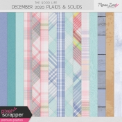 The Good Life: December 2020 Plaids & Solids Kit