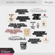 Holiday? Word Art Kit