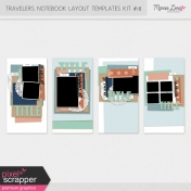 Travelers Notebook Layout Templates Kit #18