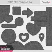 Templates Grab Bag Kit #34 - Burlap