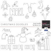 Brush Kit #26- Christmas Doodles