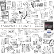 Brush Kit #25- Passport Stamps