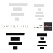 Tape Templates Kit #1