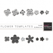 Flower Templates Kit #19