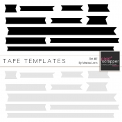 Tape Templates Kit #2