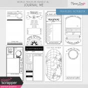 World Traveler #2 Black & White Journal Me Kit