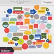 World Traveler #2 Labels Kit