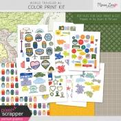 World Traveler #2 Print Kit