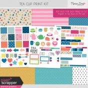 Tea Cup Print Kit