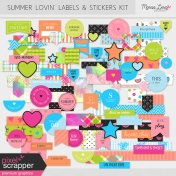 Summer Lovin' Labels & Stickers Kit