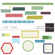 Like This Tape & Tags Kit