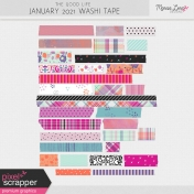 The Good Life: January 2021 Washi Tape Kit