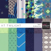 At Twilight Papers Kit