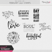 The Good Life: February 2021 Stamps Kit