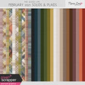 The Good Life: February 2021 Solids & Plaids Papers Kit