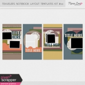 Travelers Notebook Layout Templates Kit #20