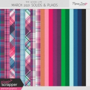 The Good Life: March 2021 Plaids & Solids Kit