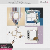 The Good Life: March 2020 Quick Pages Kit