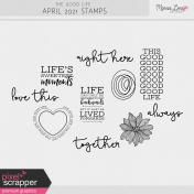 The Good Life: April 2021 Stamps Kit