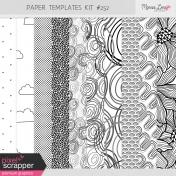 Paper Templates Kit #252