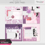The Good Life: April Quick Pages Kit