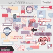 The Good Life: May 2021 Tags & Stickers Kit