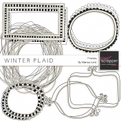 Winter Plaid Frames Kit