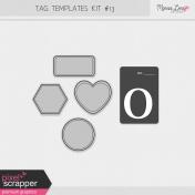 Tag Templates Kit #13