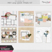 The Good Life: May 2019 Quick Pages Kit