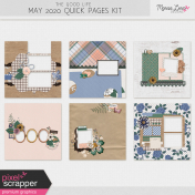 The Good Life: May 2020 Quick Pages Kit