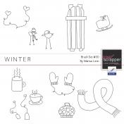 Brush Kit #30- Winter Doodles
