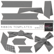 Ribbon Templates Kit #4
