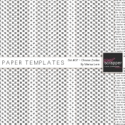 Paper Templates #37 Kit- Chinese Zodiac Overlays