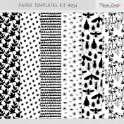 Paper Templates Kit #254