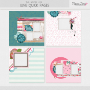 The Good Life: June Quick Pages Kit #2