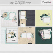 The Good Life: June 2019 Quick Pages Kit