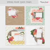 Spring Fever Quick Pages Kit
