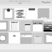 Pocket Card Templates Kit #9 - 4x4