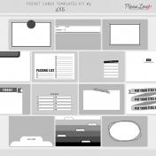 Pocket Card Templates Kit #9 - 4x6
