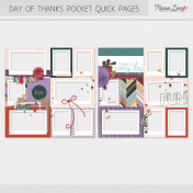 Day of Thanks Pocket Quick Pages Kit
