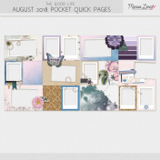 The Good Life: August Pocket Quick Pages Kit