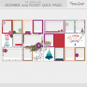 The Good Life: December 2019 Pocket Quick Pages Kit