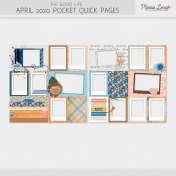 The Good Life: April 2020 Pocket Quick Pages Kit
