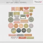 The Good Life: July 2021 Labels Español Kit