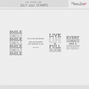 The Good Life: July 2021 Stamps Kit