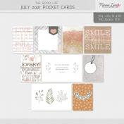The Good Life: July 2021 Pocket Cards Kit